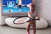 Набор в детские группы по теннису с элементами фитнеса от 4-7 лет.